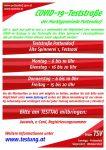 COVID-19-Teststraße Pottendorf nun 4 x wöchentlich!
