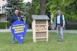 Insektenhotel und Blumenwiese für Siegersdorf