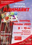Einladung zum großen Flohmarkt am 3. Oktober 2021